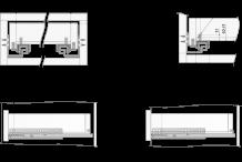 Направляющие механизмы BOYARD DB DB4463Zn